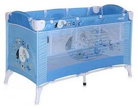 Манеж-кровать Lorelli Bertoni Arena 2 Layers Blue Doggie