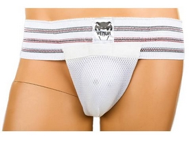 Защита паха мужская (ракушка) Venum MA-4513V белая