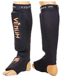 Защита для голени и стопы чулочного типа Venum MA-6239-BKO оранжевая
