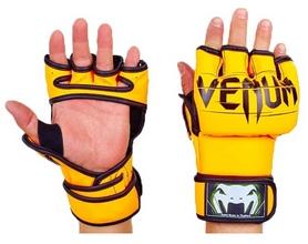 Перчатки для смешанных единоборств MMA PU Venum BO-5699-OR оранжевые