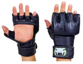 Перчатки для смешанных единоборств MMA PU Venum BO-5699-BK черные
