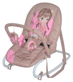 Кресло-качалка Bertoni Top Relax Biege&Rose Princess