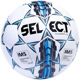 Мяч футбольный Select Numero 10 IMS New № 4 белый