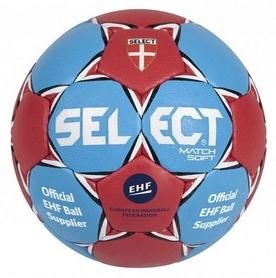 Мяч гандбольный Select Match-Soft IHF № 3 синий