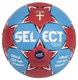 Мяч гандбольный Select Match-Soft IHF № 0 синий