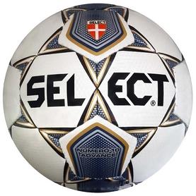 Мяч футбольный Select Numero 10 Advance № 4 белый