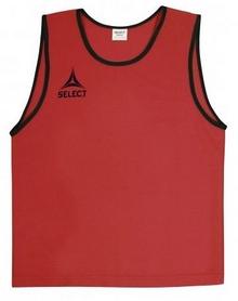 Накидка (манишка) тренировочная детская Select Bibs Super красная