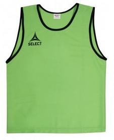Накидка (манишка) тренировочная детская Select Bibs Super зеленая