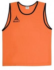 Накидка (манишка) тренировочная детская Select Bibs Super оранжевая