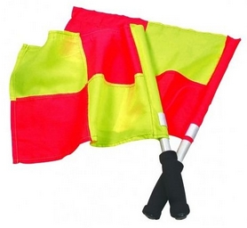 Флаги судейские (флаги для лайнсменов) Select Linesman's flag, Amateur желтые