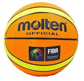 Мяч баскетбольный резиновый Molten BA-1841 №7