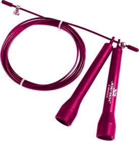 Скакалка регулируемая Joerex JBA50527-р розовая