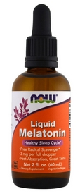 Мелатонин Now Liquid Melatonin, 60 мл