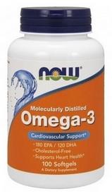 Спецпрепарат Now Omega 3, 100 капсул * 1000 мг