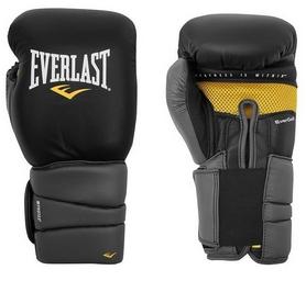 Перчатки боксерские Everlast Protex3 Gel черные
