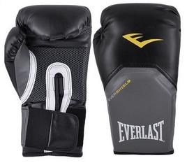 Перчатки боксерские Everlast Pro Style Elite Training Gloves черные