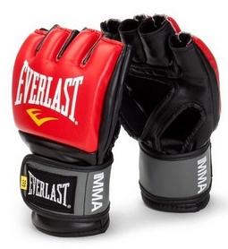 Перчатки для ММА Everlast ММА Pro Style Grappling Gloves красные