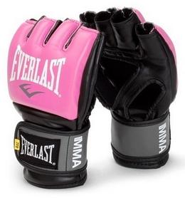 Перчатки для ММА Everlast ММА Pro Style Grappling Gloves розовые