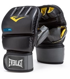 Перчатки снарядные Everlast Evergel Wristwrap Heavy Bag Gloves черные