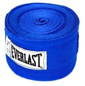 Бинт боксерский Everlast синий, 3 м