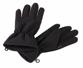 Перчатки детские Lassie SoftShell 727705 черные
