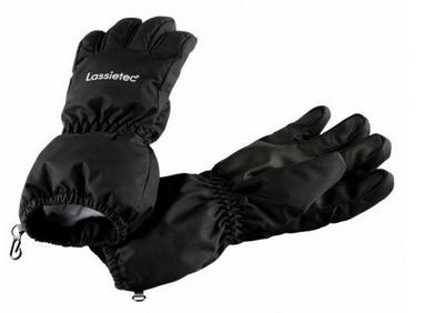 Перчатки зимние детские Lassie 727714-BK черные