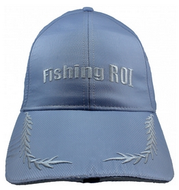 Кепка с фонариком Fishing ROI 2-00-0022 серая
