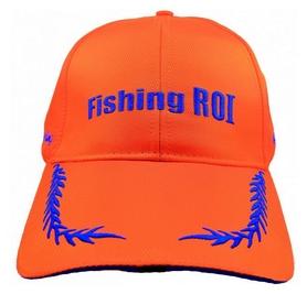 Кепка с фонариком Fishing ROI 2-00-0020 оранжевая