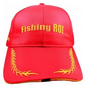 Кепка с фонариком Fishing ROI 2-00-0021 красная