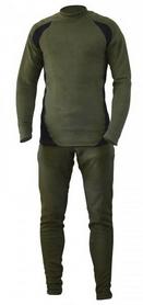 Термобелье мужское Fishing ROI зелено-черное 1252047