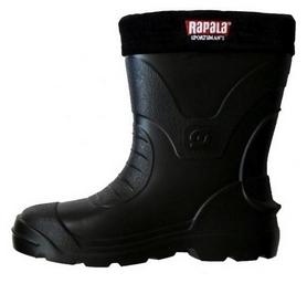 Сапоги короткие с чулком  Rapala Sportsmans 30* черные
