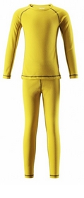 Комплект термобелья детский Reima Oy 536183 желтый