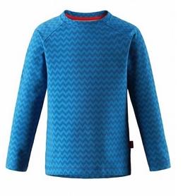 Футболка с длинным рукавом детская Reima Oy 536202-DB синяя