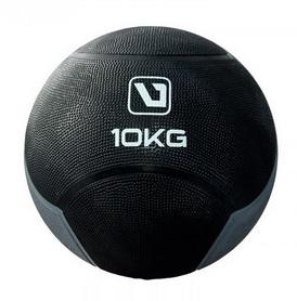 Мяч медицинский (медбол) LiveUp Medicine Ball LS3006F-10 черный, 10 кг