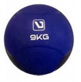 Мяч медицинский (медбол) LiveUp Medicine Ball LS3006F-9 синий, 9 кг
