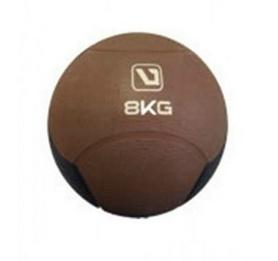 Мяч медицинский (медбол) LiveUp Medicine Ball LS3006F-8 коричневый, 8 кг