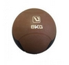 Мяч медицинский (медбол) LiveUp Medicine Ball LS3006F-8 коричневый, 8 кг - фото 1