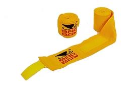 Бинт боксерский Bad Boy MA-5464-3(Y) желтый, 3 м
