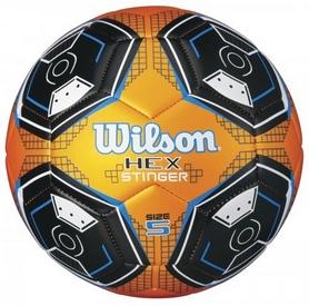 Мяч футбольный Wilson Hex Stinger Org SZ5 SS17