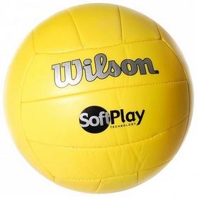 Мяч волейбольный Wilson Soft Play Yel SS17 № 5
