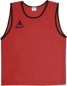 Накидка (манишка) тренировочная Select Bibs Super красная