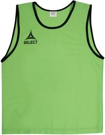 Накидка (манишка) тренировочная Select Bibs Super зеленая