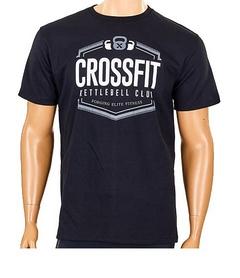 Футболка мужская Crossfit CO-5879-BK черная - M