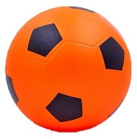 Распродажа*! Мяч футбольный Soccer оранжевый 15 см