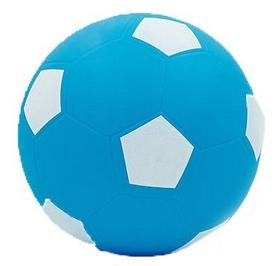 Мяч футбольный Soccer голубой 15 см