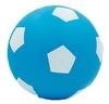 Мяч футбольный Soccer голубой 15 см - фото 1
