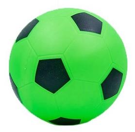 Мяч футбольный Soccer салатовый 15 см