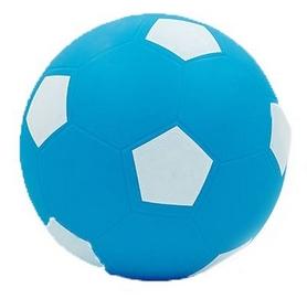Распродажа*! Мяч футбольный Soccer голубой 22 см