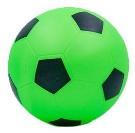 Мяч футбольный Soccer салатовый 22 см