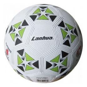 Мяч футбольный Soccer бело-зеленый №4